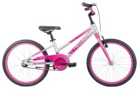 """Велосипед 20"""" Apollo NEO girls Brushed Alloy / Pink / Dark Pink Fade"""