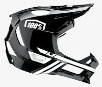 Вело шлем Ride 100% TRAJECTA Helmet [Black/White], L
