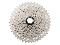 Кассета инд. 10-k 11-46T SUN RACE MS2 MTB, алюминиевый паук, Metallic Silver