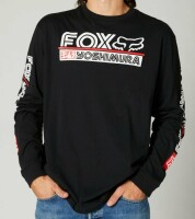 Футболка FOX YOSHIMURA TEE [Black], XL