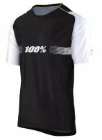 Вело джерси Ride 100% Celium SOLID Jersey [Black], L
