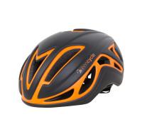 Шлем Green Cycle Jet черно-оранж матовый