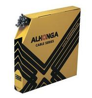 Трос для тормоза МТБ ALHONGA HJ-BWS1-S 7x6=1.5x2000mm, стальной гальванизированный шлифованный (50шт)