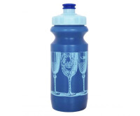 Фляга 0,6 Green Cycle BLUE CUPS с большим соском, blue nipple/ blue cap/ blue bottle