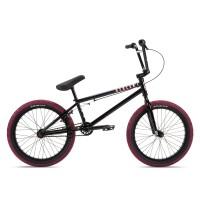 "Велосипед 20"" Stolen CASINO 20.25"" 2021 BLACK & BLOOD RED"