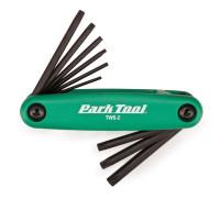 Набор торксов складной Park Tool T7, T9, T10, T15, T20, T25, T27, T30 и T40