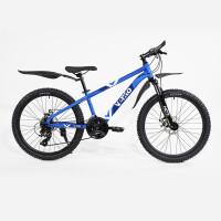 ВЕЛ Велосипед(Vento) STORM 24  Blue Gloss