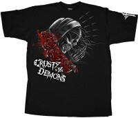 Футболка Crusty Pray Skull [Black], L