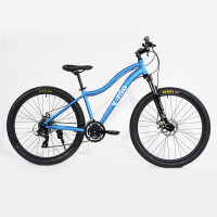 Велосипед(Vento) MISTRAL 27.5  Light Blue Gloss 17/M
