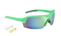 Очки Green Cycle GGL-613 c двумя сменными линзами  + чехол; Зеленые