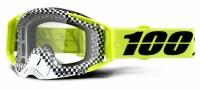 Мото очки 100% RACECRAFT Goggle Andre - Clear Lens, Clear Lens
