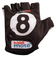 Перчатки детские Kiddimoto бильярдный шар, чёрные