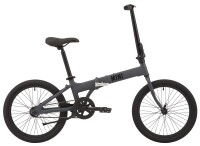 "Велосипед 20"" Pride MINI 1 2021 серый"